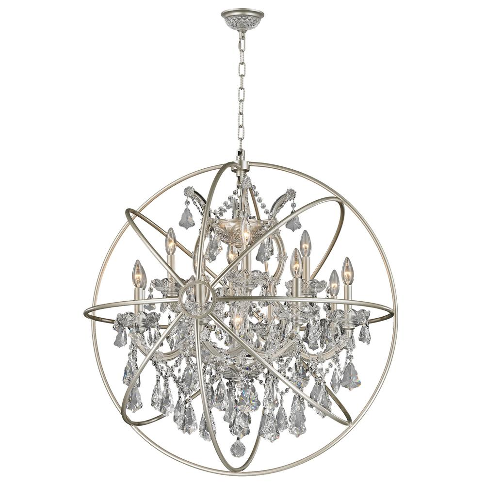 Worldwide lighting armillary 13 light clear crystal chandelier worldwide lighting armillary 13 light clear crystal chandelier arubaitofo Choice Image