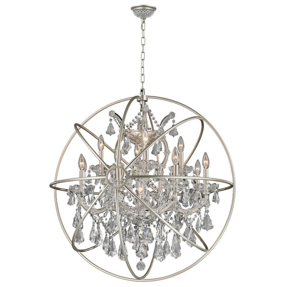 Worldwide lighting armillary 13 light clear crystal chandelier worldwide lighting armillary 13 light clear crystal chandelier arubaitofo Image collections