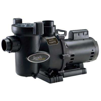 FloPro 1 HP Single Speed Medium Head Pool Pump