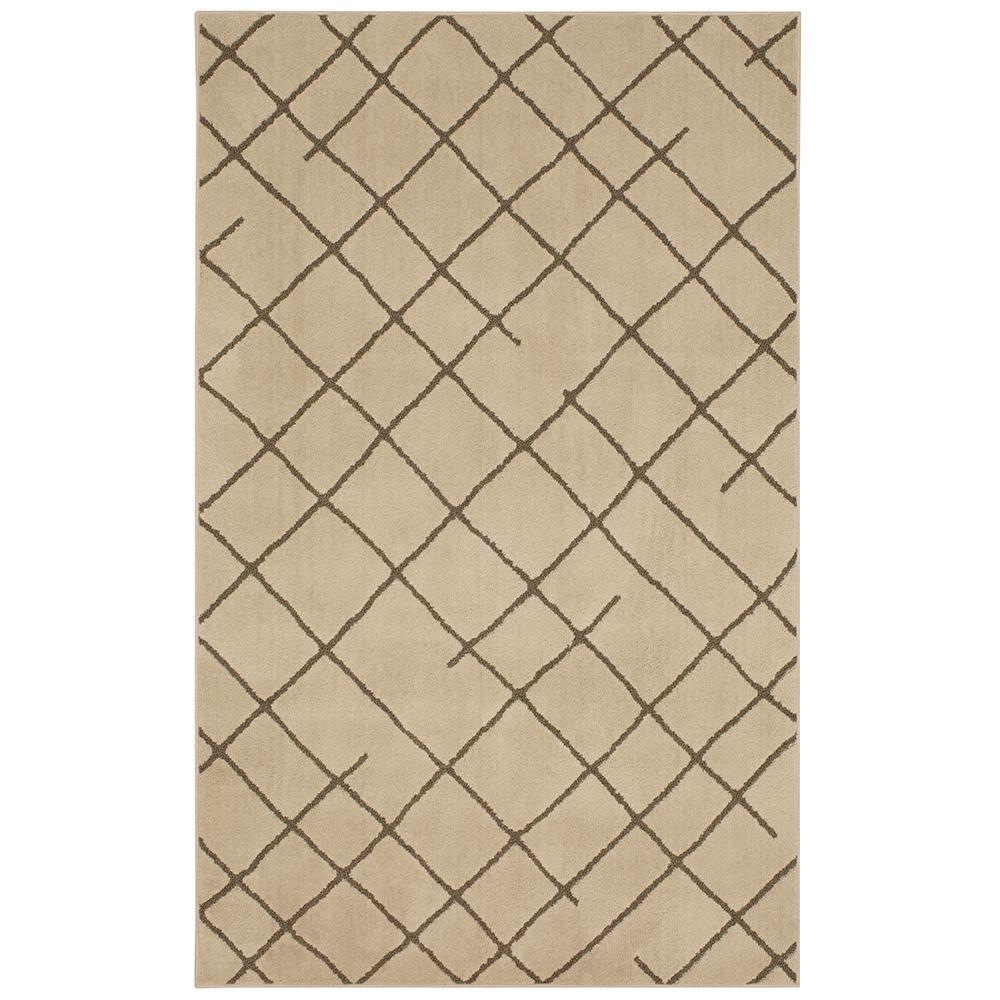 MOHAWKHOME Mohawk Home Matador Beige Gray Nut 5 ft. x 7 ft. Area Rug, Beige/Gray Nut