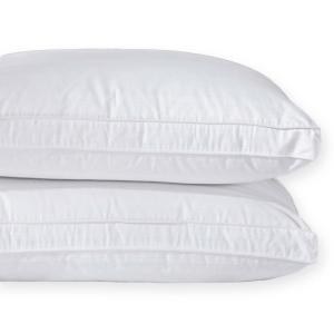 Pure Down Puredown Goose Down Gusset Pillow with Pillow Protectors in King (Set of 2) by Pure Down