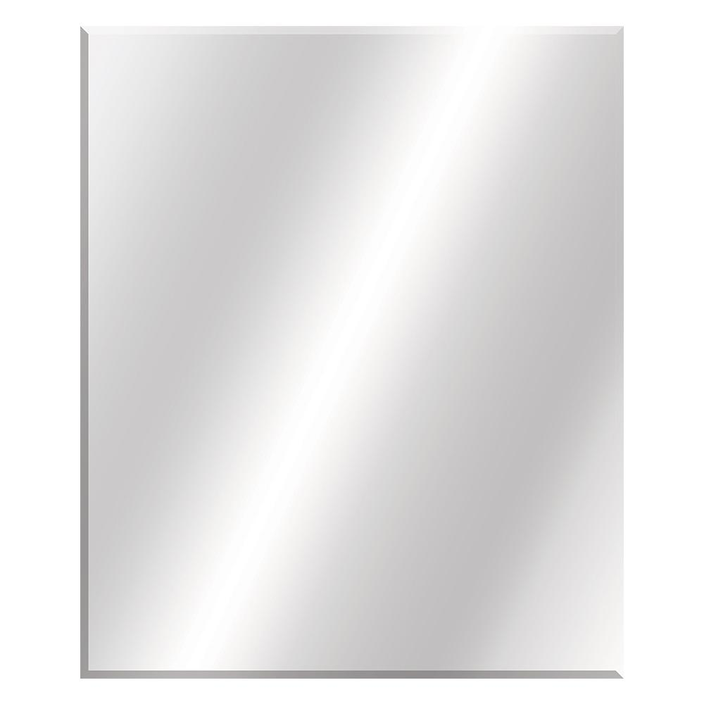 30 in. W x 36 in. L Beveled Edge Bath Mirror