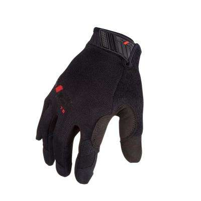 Mechanic Touchscreen Compatible Work Gloves, Black