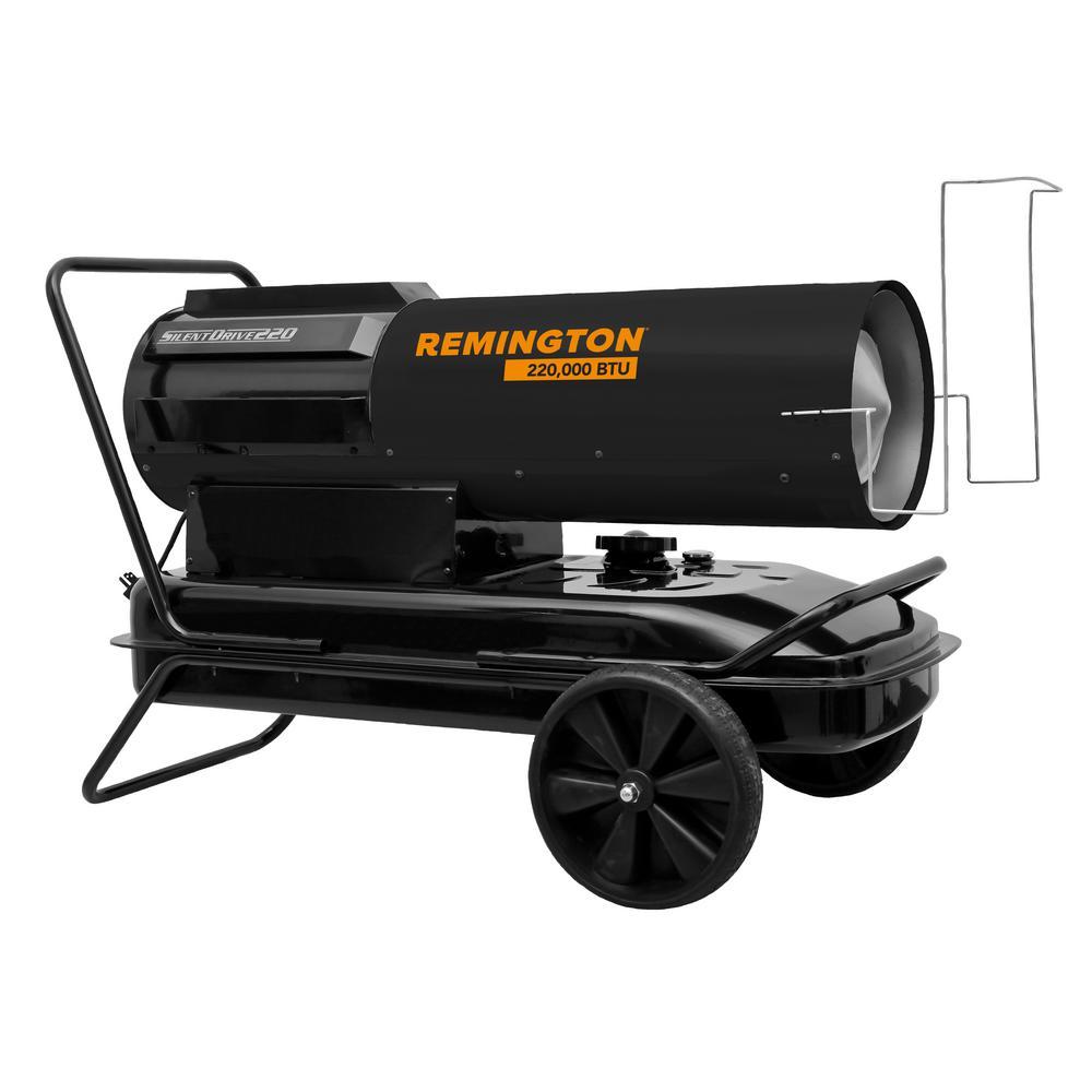 220,000 BTU Forced Air Kerosene Space Heater with Silent Drive
