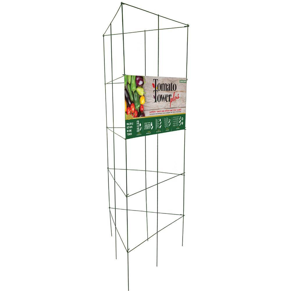 Gardener S Blue Ribbon Tomato Tower Plus 901284dpt The Home Depot