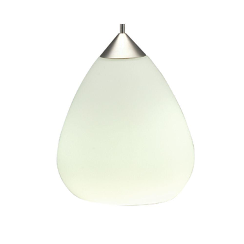 Juno 1-Light Opal LED Pendant Kit Teardrop