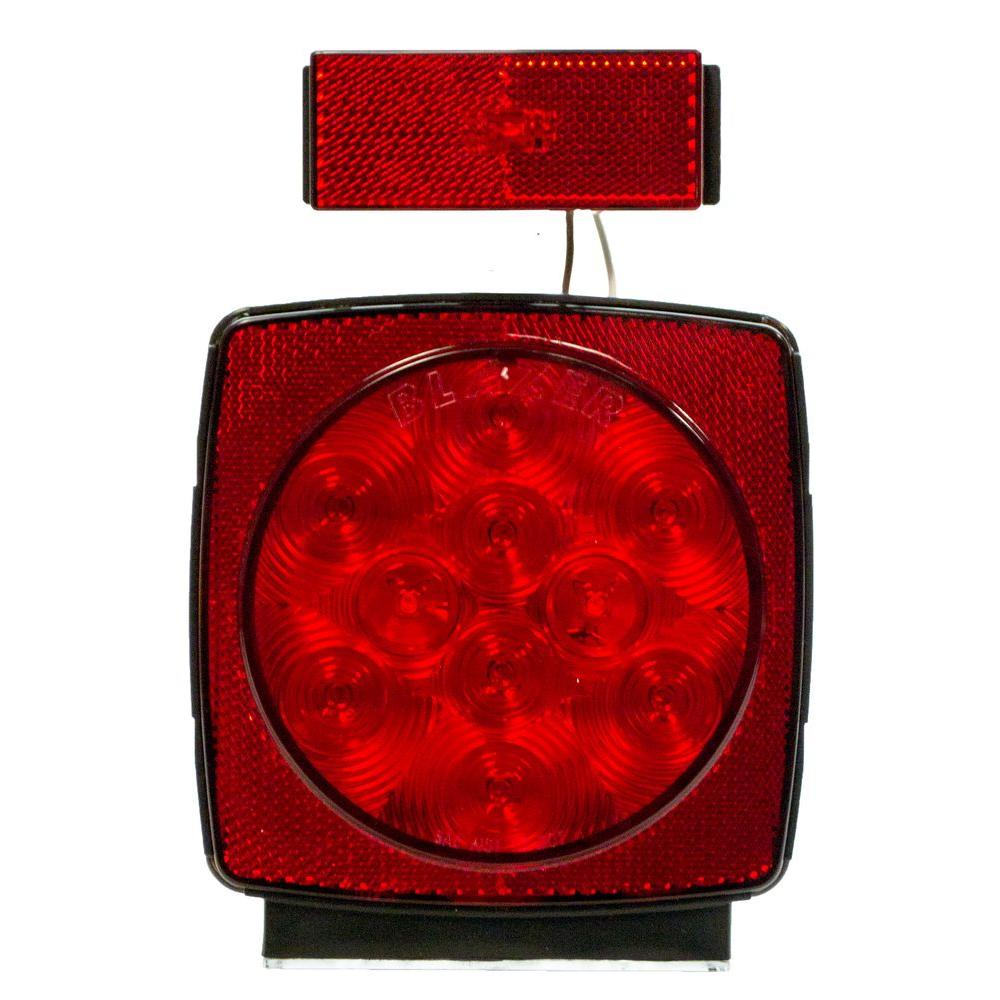 Blazer Led Submersible Trailer Lamp Kit For Under 80 In Magnetic Tow Light Wiring Diagram Anyside Combo Stop Tail Turn