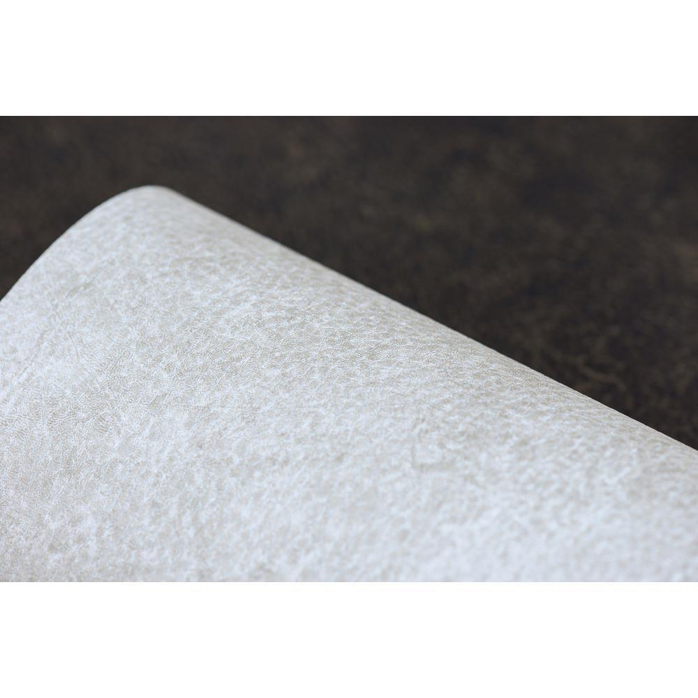 Roma Leather Sea Salt Thunderstorm Embossed Vinyl Wallpaper