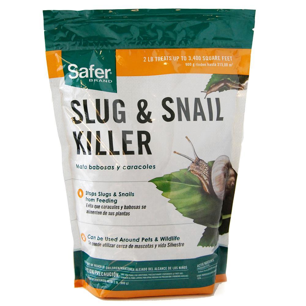 Safer Brand 2 Lbs Slug And Snail Killer Sb125 The Home