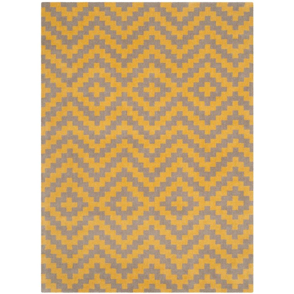 Safavieh Cambridge Taupe/Gold (Brown/Gold) 8 ft. x 10 ft....