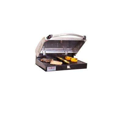 Stainless Steel Barbecue Grill Box for 3-Burner Stoves