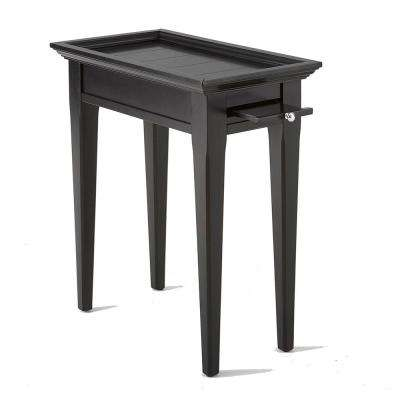 Bridget Ebony Chairside End Table