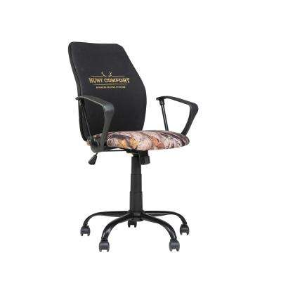 Hunt Comfort GelCore Black Mesh Swivel Blind and Task Office Chair
