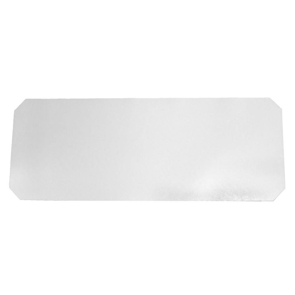 Trinity Frosty Clear Shelf Liner (Set of 4)