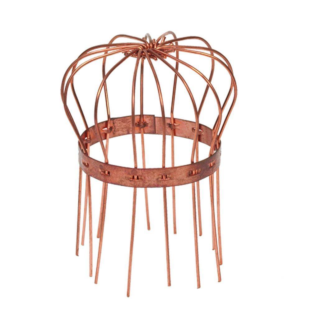 3 in. Copper Round Wire Strainer