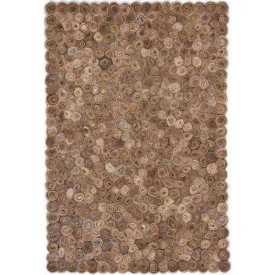 Masterton Brown/Tan/Taupe 8 ft. x 11 ft. Indoor Area Rug