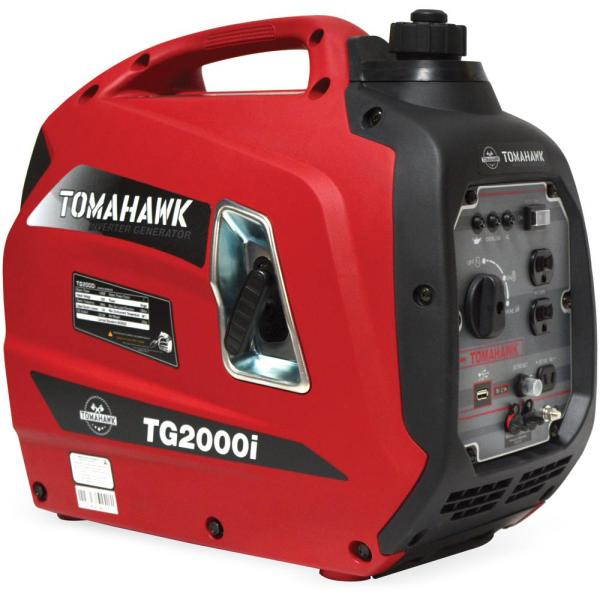 2000-Watt Gas Powered Recoil Start Inverter Generator with 2.5 HP Engine