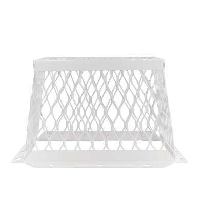 VentGuard 7 in. x 7 in. Dryer and Bathroom Wildlife Exclusion Screen in Gray