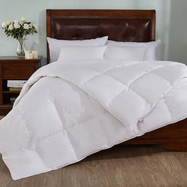 Extra Warmth White King Down Comforter