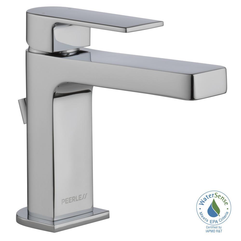 Peerless Xander 4 in. Centerset Single-Handle Bathroom Faucet with ...