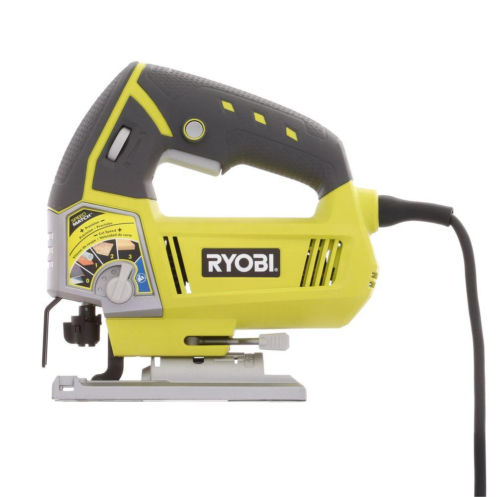 Ryobi 48 amp variable speed orbital jig saw js481lg the home depot ryobi 48 amp variable speed orbital jig saw keyboard keysfo Choice Image