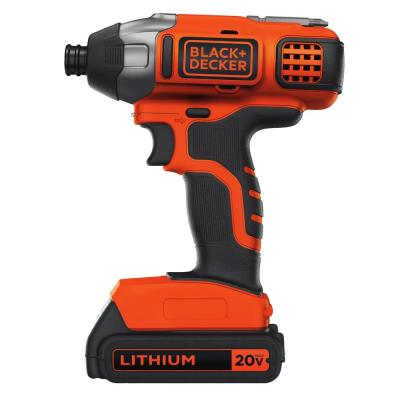 20-Volt MAX Lithium-Ion Cordless Impact Driver with Battery 1.5Ah and Charger