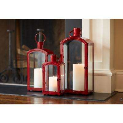 Red Lantern (Set of 3)