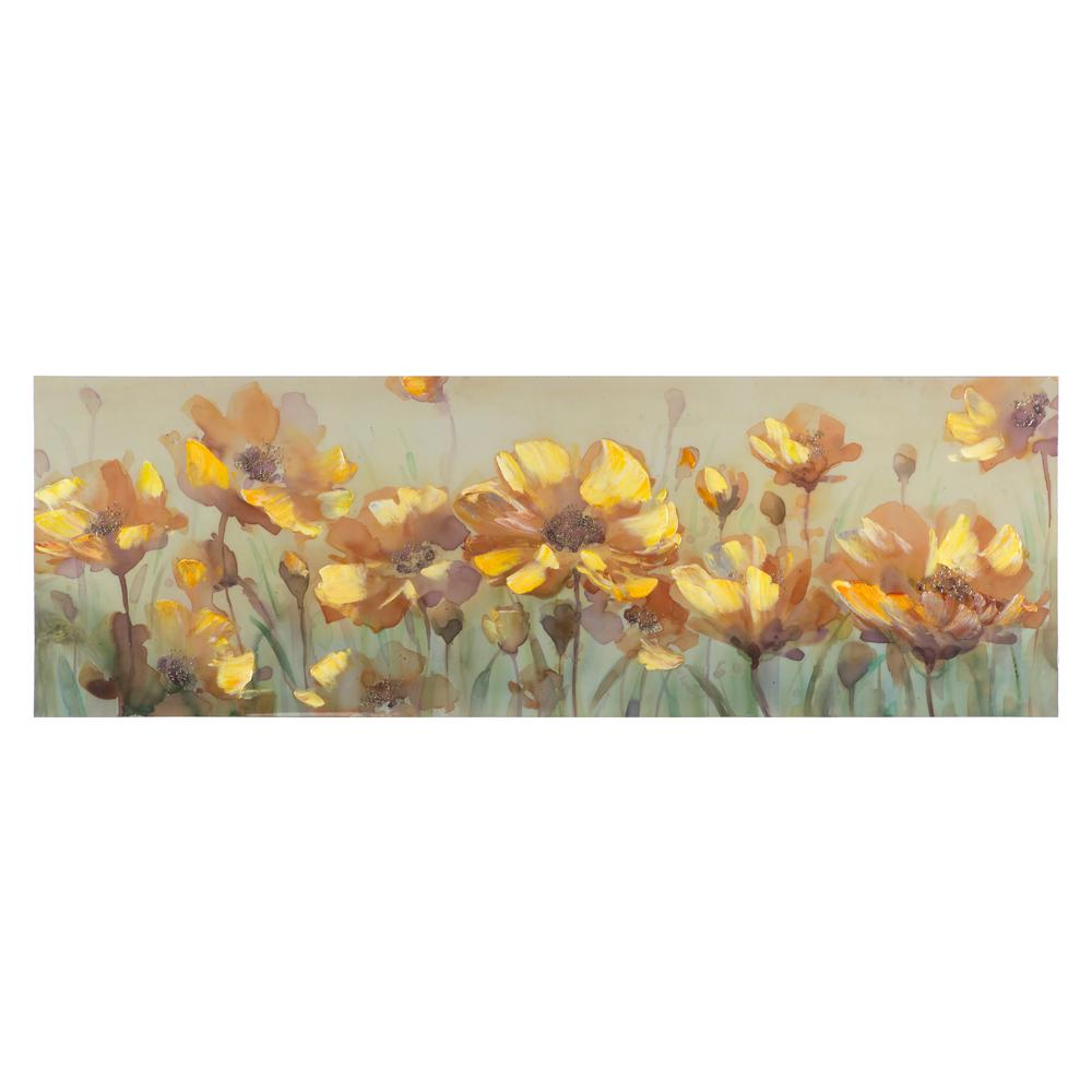Yosemite home decor 20 in h x 60 in w welcome spring Home depot decor
