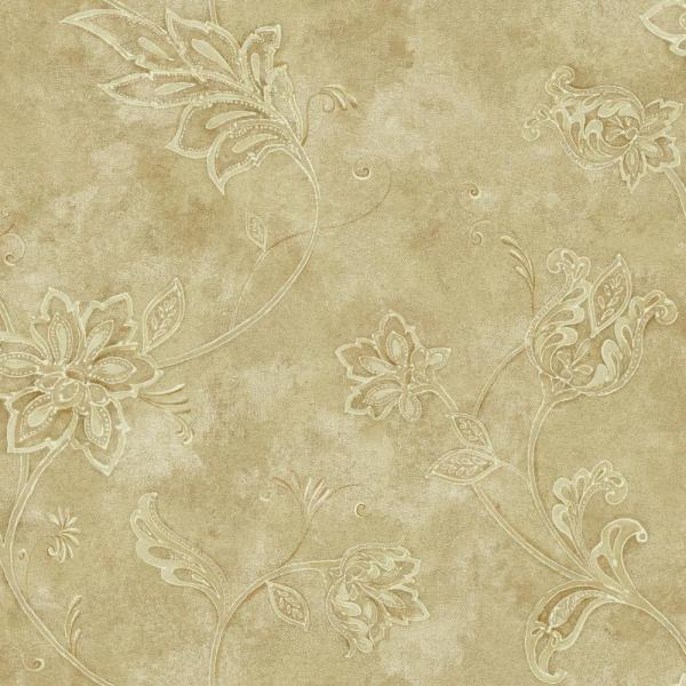York Wallcoverings Charlotte Jacobean Trail Wallpaper TB4252