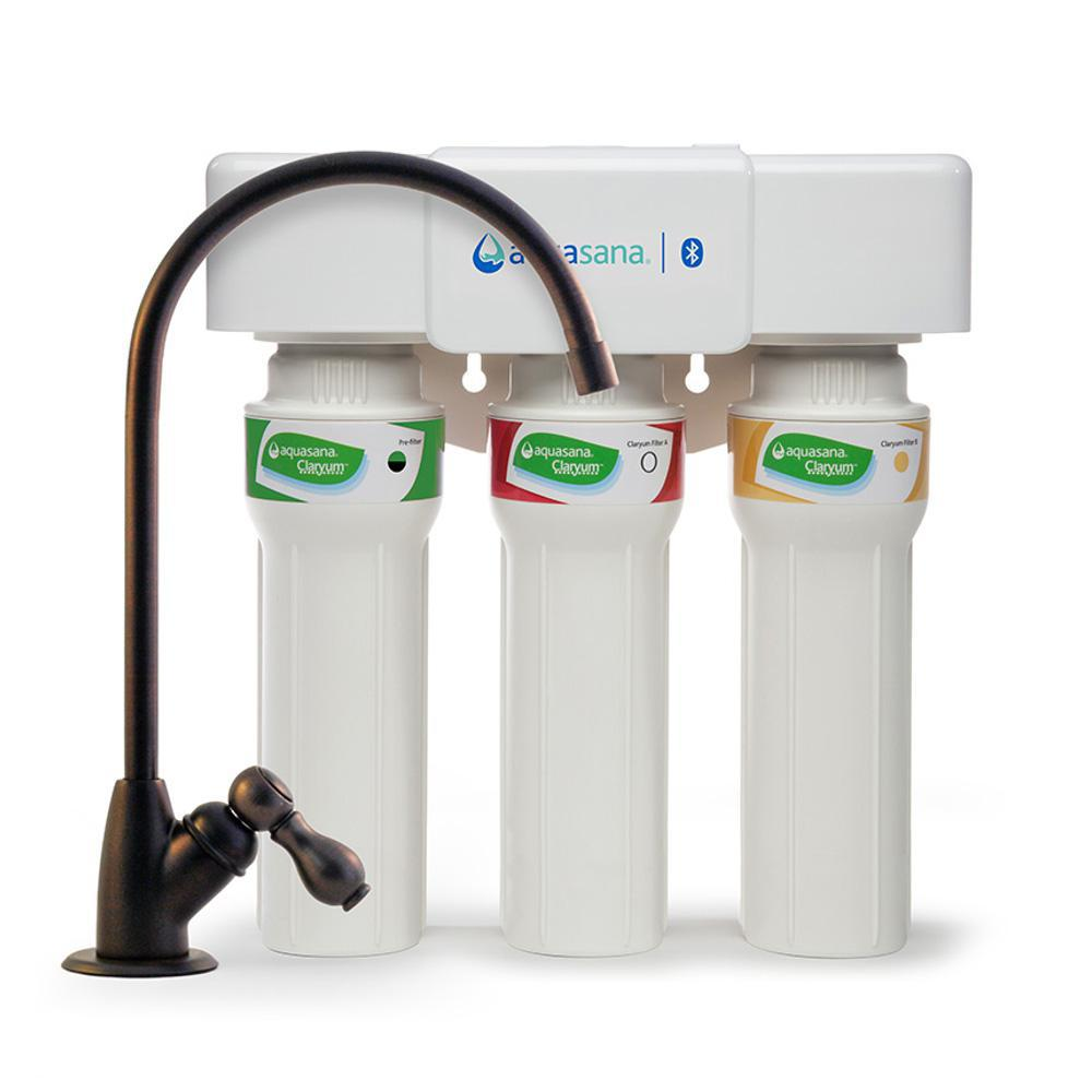 Aquasana 3-Stage Max Flow Under Counter Water Filtration System with ...