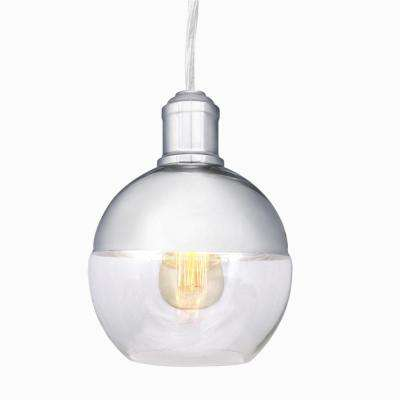 1-Light Chrome Pendant