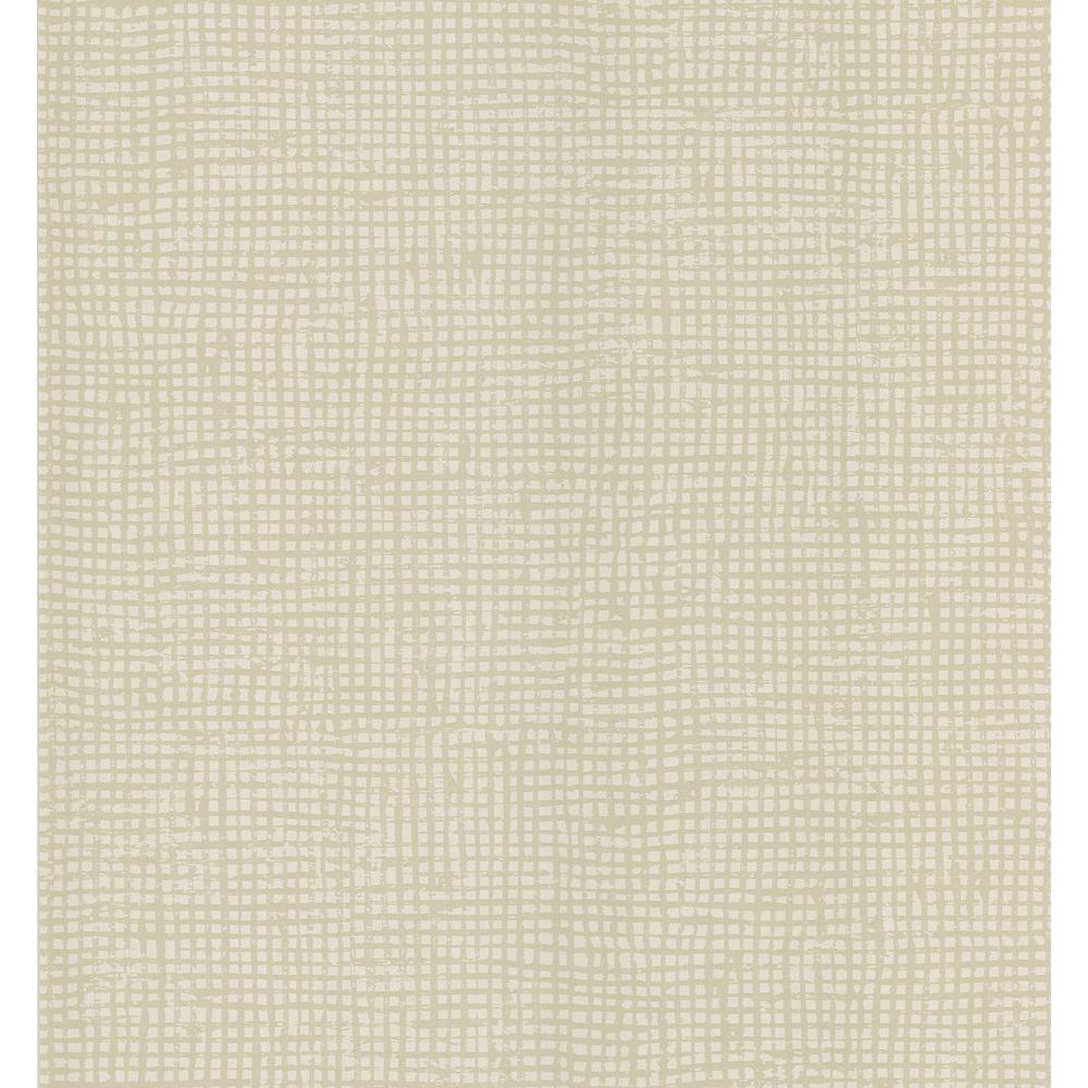 Cordel Light Grey Weave Wallpaper Sample