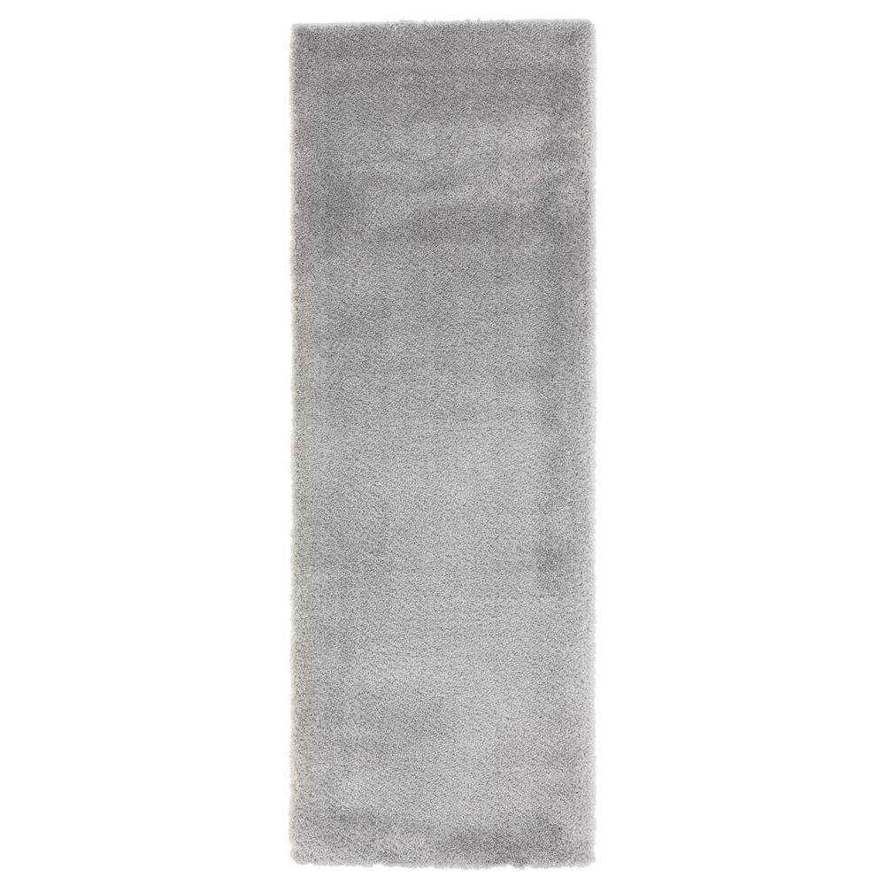 Ritz Easton Grey 2 ft. 7 in. x 7 ft. 2 in. Runner Rug