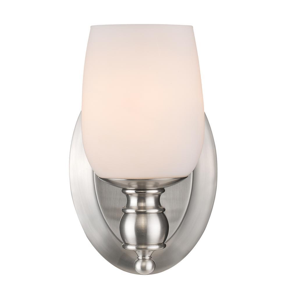 Constance Pewter 1-Light Bath Light