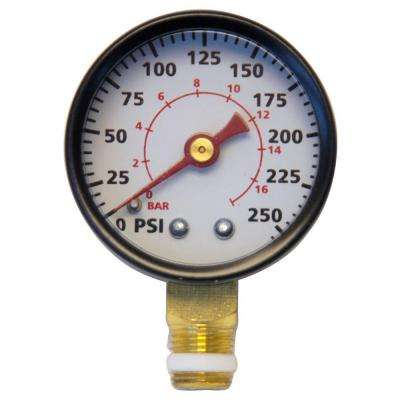 1/8 in. NPT 200 PSI Pressure Gauge Kit