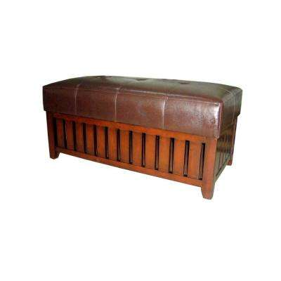 HB Brown Bench