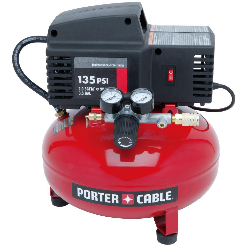 Porter-Cable 3.5 Gal. 35 PSI Pancake Electric Air Compressor