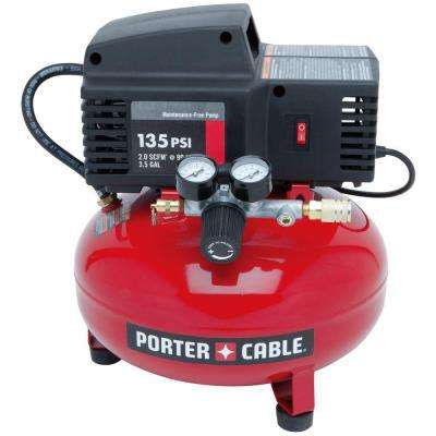 3.5 Gal. 135 PSI Pancake Electric Air Compressor