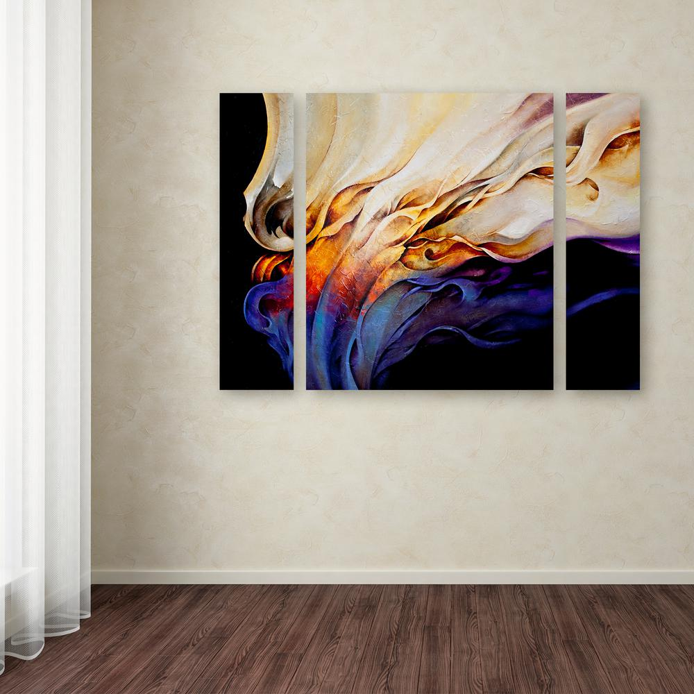 "24 in. x 32 in. ""Evoke"" by CH Studios Printed Canvas"