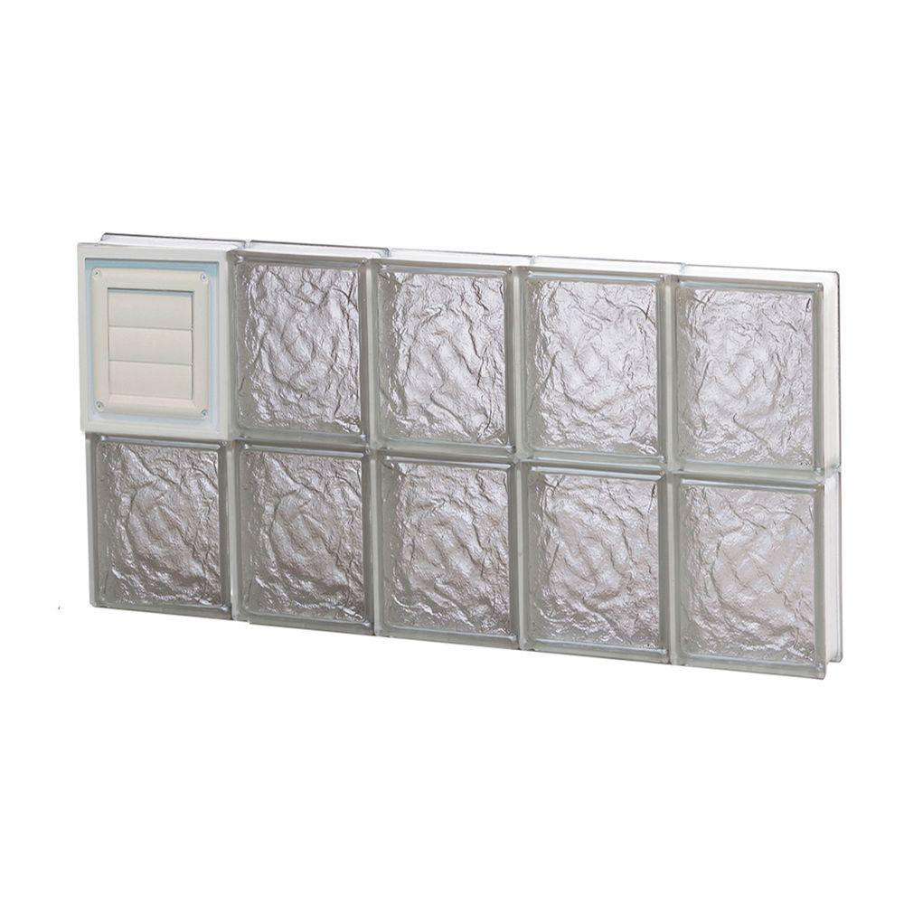 Clearly Secure 28.75 in. x 15.5 in. x 3.125 in. Frameless Ice ...