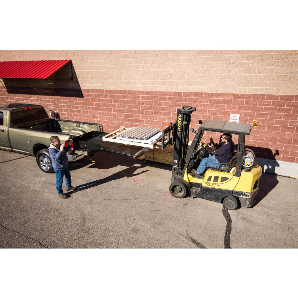 cargoglide 1000 lb. capacity 100% extension truck, van and suv slide out  tray