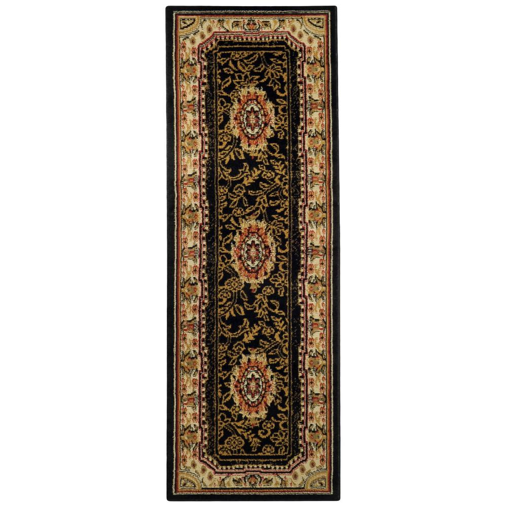 Ephes Collection Black 1 ft. 10 in. x 6 ft. 10