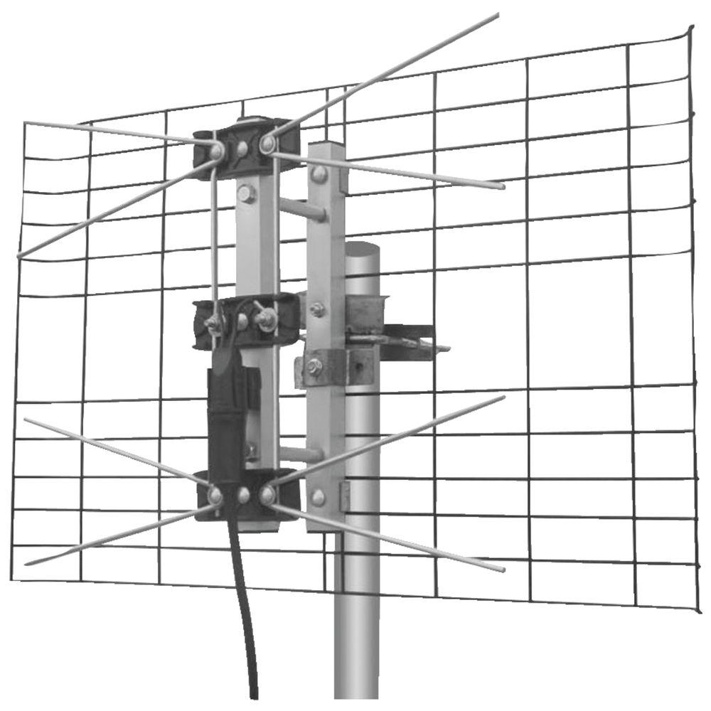 eagle aspen 2-bay uhf outdoor antenna-dtv2buhf