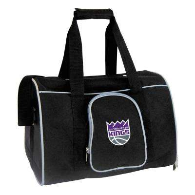 NBA Sacramento Kings Pet Carrier Premium 16 in. Bag in Gray
