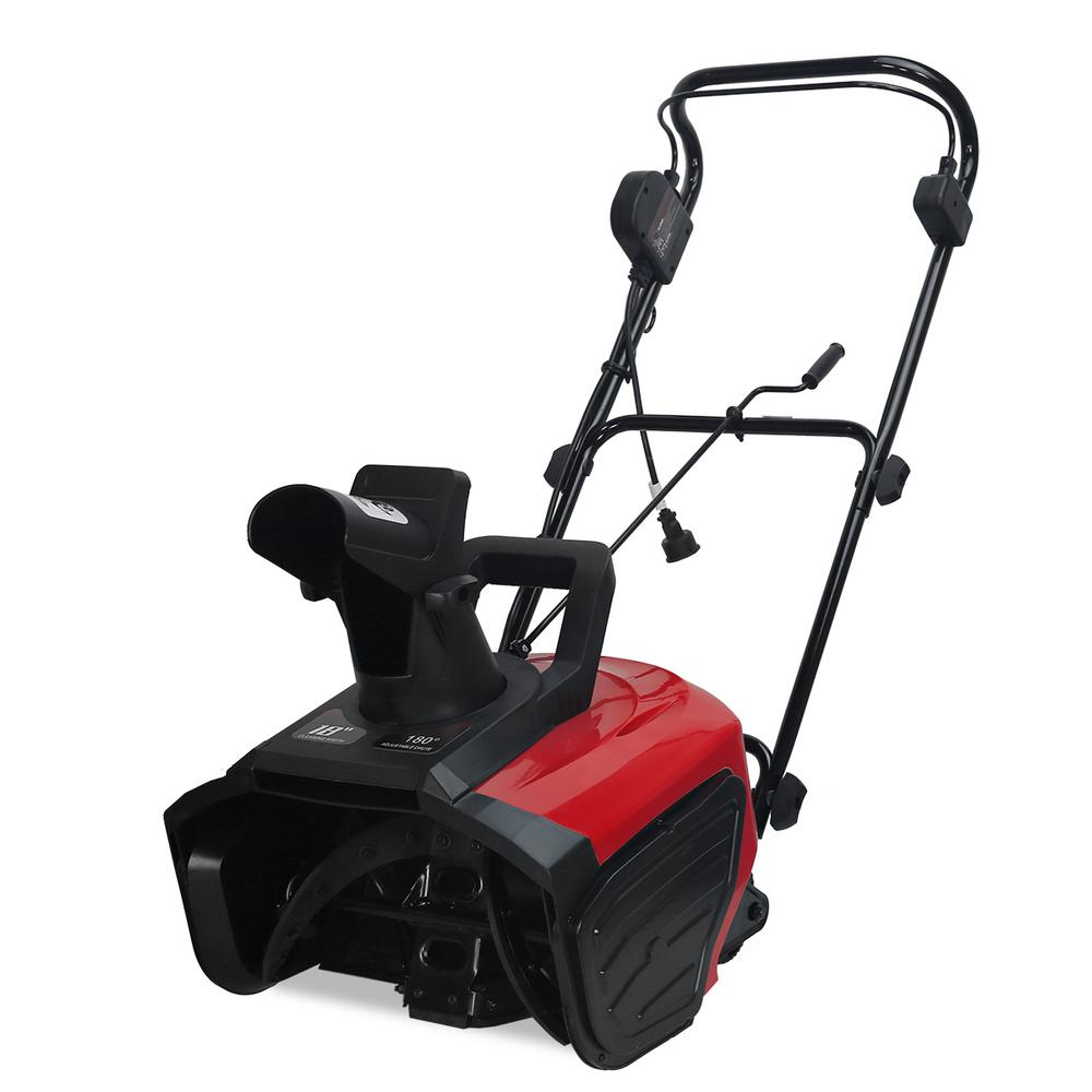 XtremepowerUS 18 in. 13 Amp Corded Electric Snow Blower Thrower