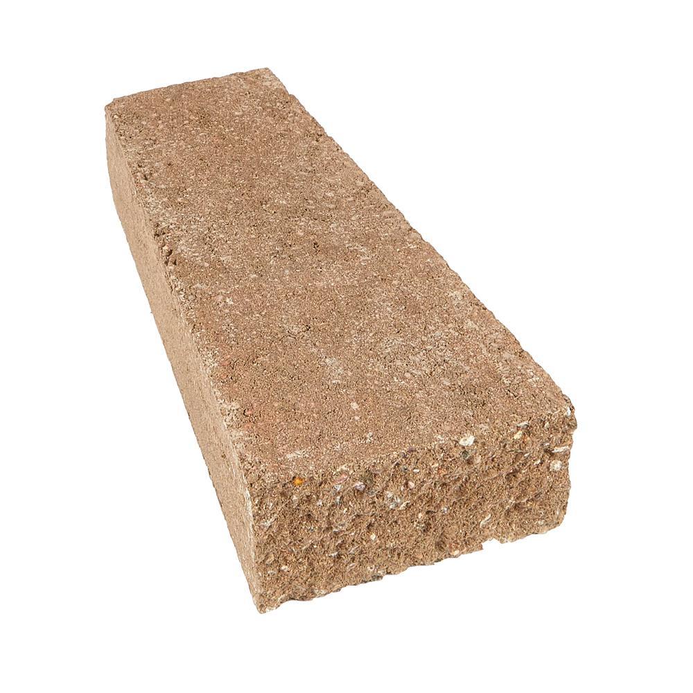 ProMuro 3 in. x 5.25 in. x 14 in. San Diego Tan Concrete Wall Cap (150 Pcs. / 65.6 Lin. ft. / Pallet)