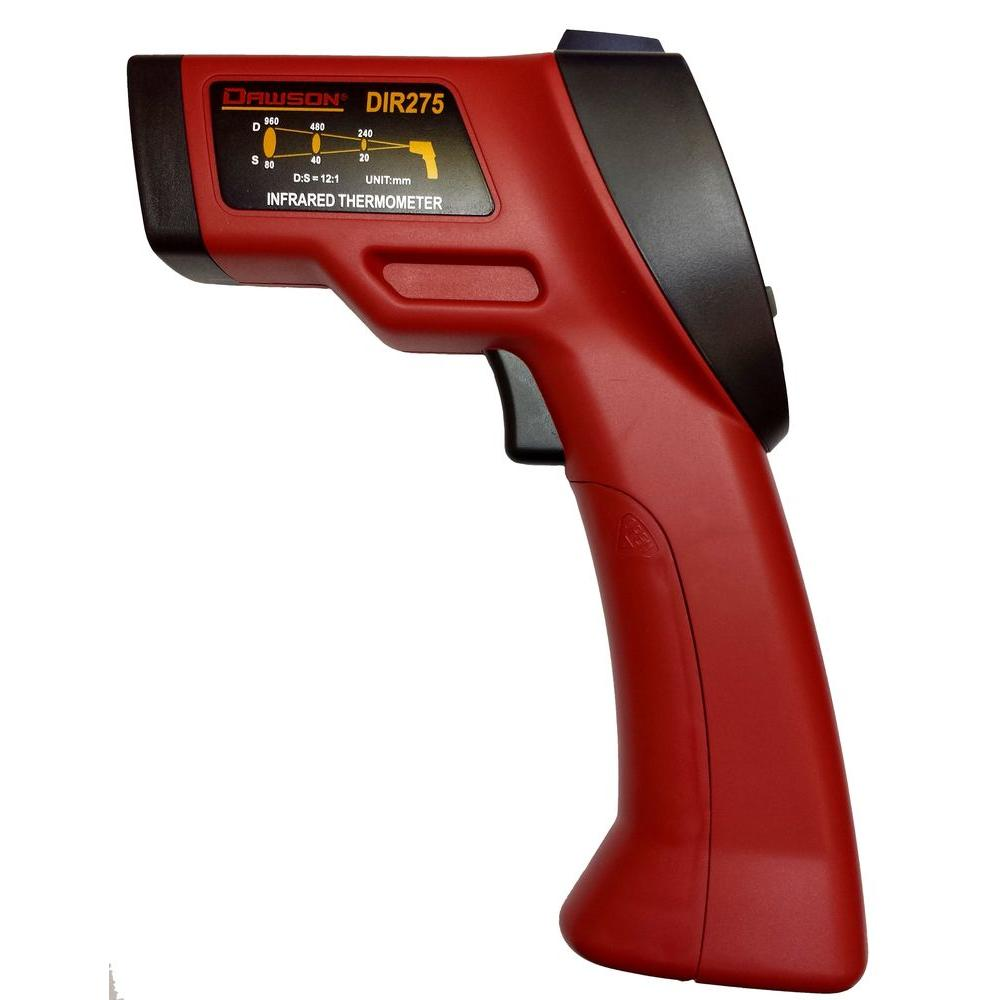 Dawson Non-Contact Infrared Thermometer The DIR275 is a highly advanced infrared thermometer with the ability to measure surface temperature from a distance. The thermometer also features thermal bridge and mold warning modes, combining the surface temperature measurement along with the installed ambient temperature/humidity sensor. These additional features make the DIR275 a highly versatile tool for professionals looking for more than just a standard infrared thermometer.