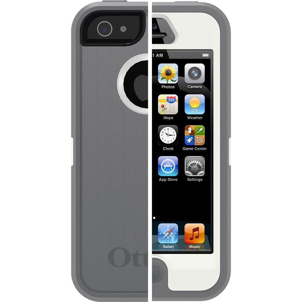 OtterBox Defender Cell Phone Case for iPhone 5 - Glacier