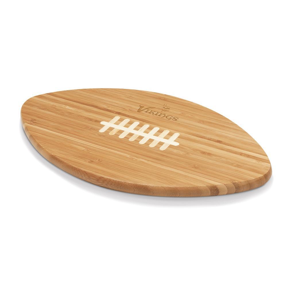 Minnesota Vikings Touchdown Pro Bamboo Cutting Board