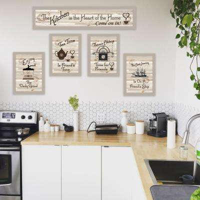 """Kitchen Friendship Collection II"" by Millwork Engineering Framed Wall Art"
